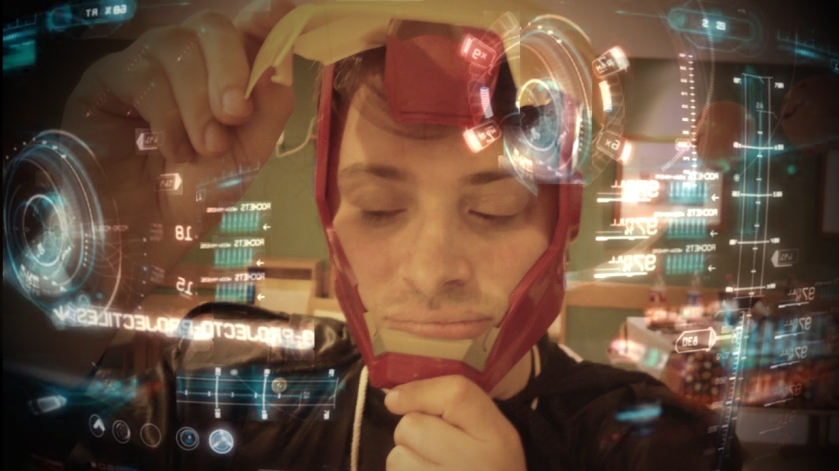 Roubando a tecnologia Stark...