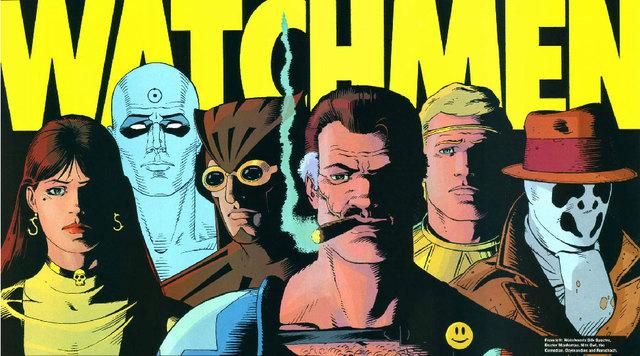 Watchmen, de Alan Moore e Dave Gibbons, obra seminal para qualquer fã de quadrinhos.