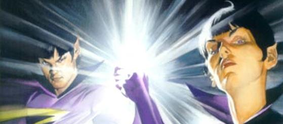 Zan, Jayna e Gleek. Novas versões de sidekicks para os SuperAmigos, diretamente de Space Ghost.