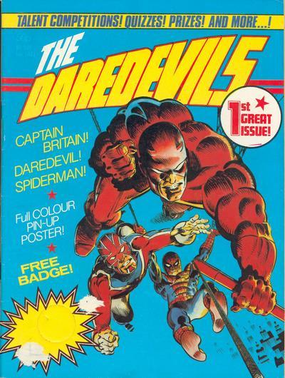 The Daredevils: além de Demolidor e Homem-Aranha, trazi o Capitão Bretanha de Alan Davis!