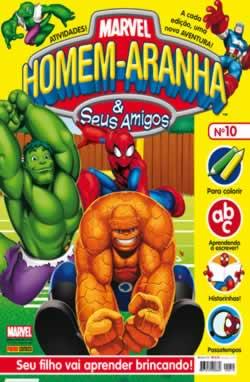 Homem-Aranha e seus Amigos. Versão brasileira do comic publicado pela Panini UK.