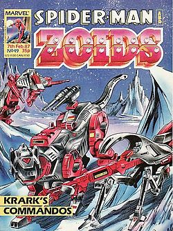 Spider-Man and ZOIDS (?) WTF?