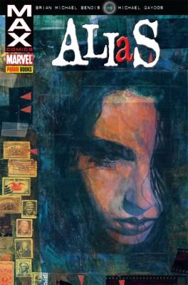 O encadernado da Panini com as 10 primeiras histórias de ALIAS