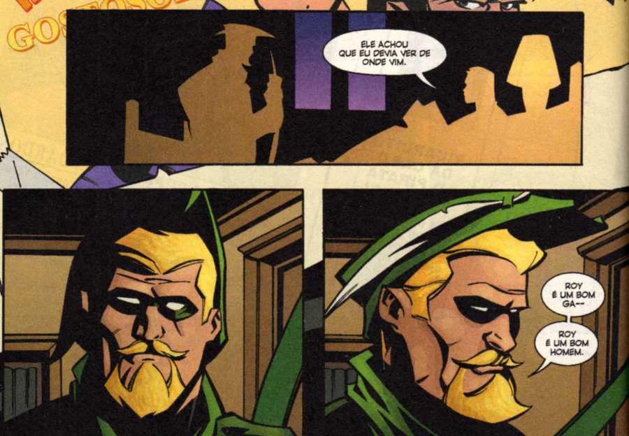 Diálogo de Queen e Connor Hawke