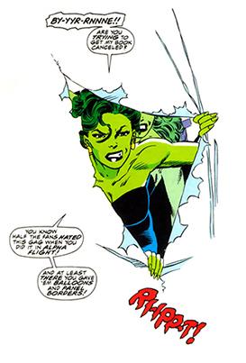 A MUlher-Hulk contra o Apagador -Vivo!