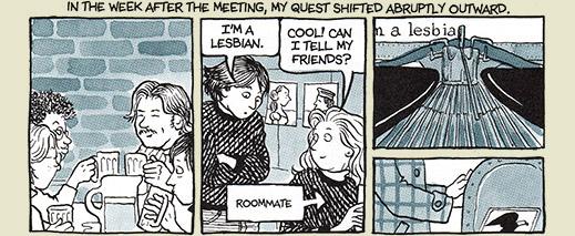 """""""Sou Lésbica!"""" """"Legal, posso contar pras minhas amigas?"""""""