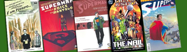 5 Versões do Superman em 5 HQs Recentes