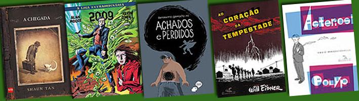 As Melhores HQs que li em 2012
