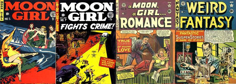 Moon Girl, o título que mais mudou de gêneros durante este período de transição.