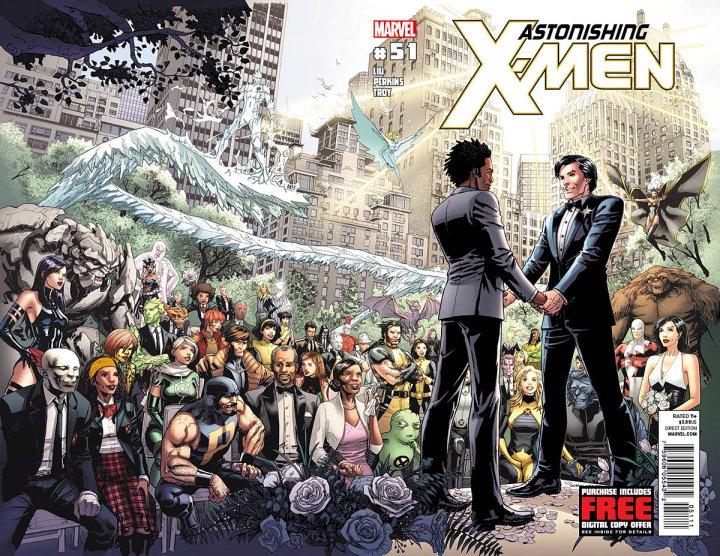 Astonishing X-Men #51, o casamento de Jean-Paul Beaubier (Estrela Polar) e Kyle Jinadu. Relevância social?