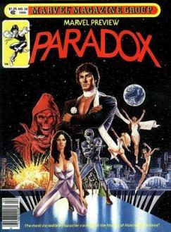 Primeira aparição de Paradoxo (Paradox)
