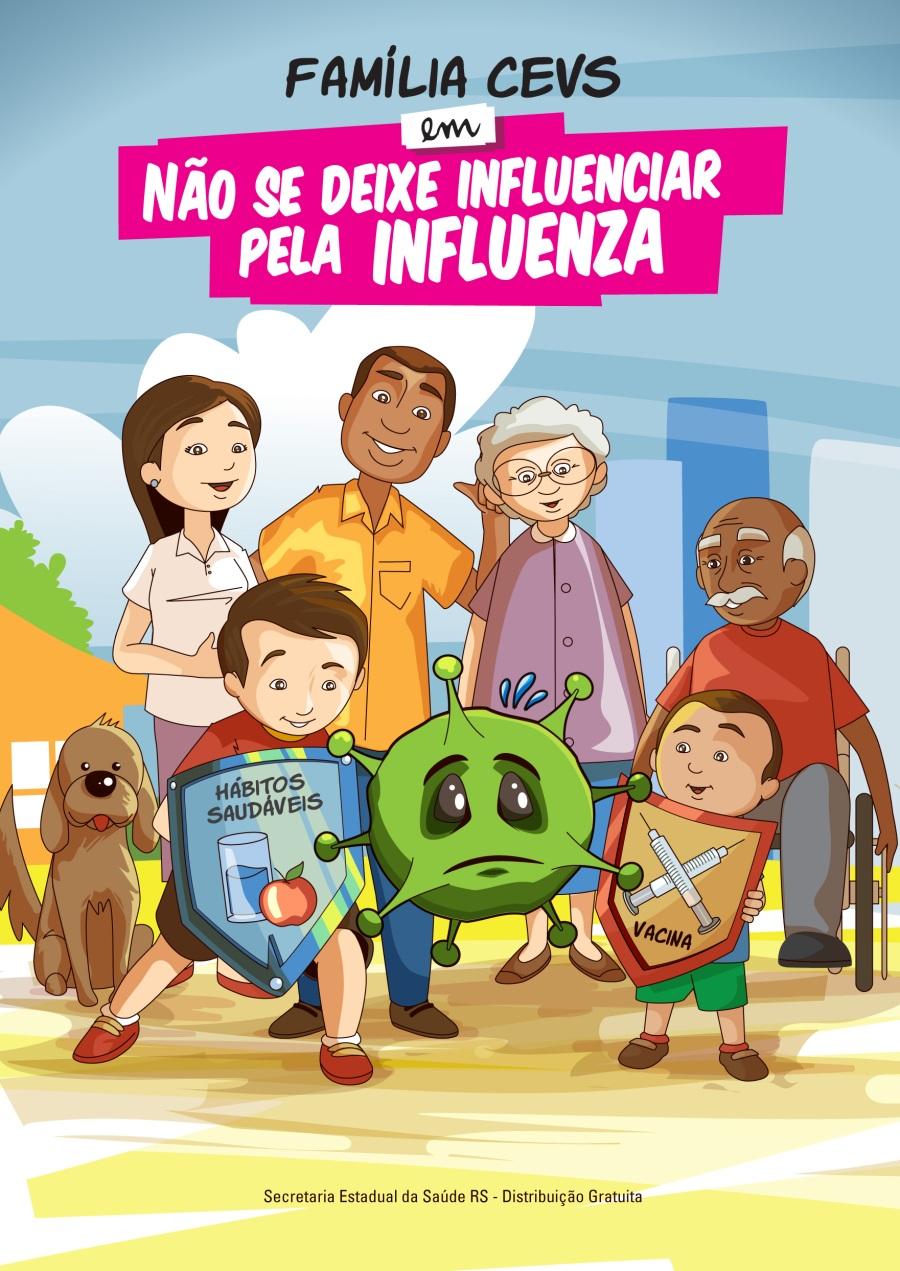 Família CEVS em Não Se Deixe Influenciar Pela Influenza (2013)