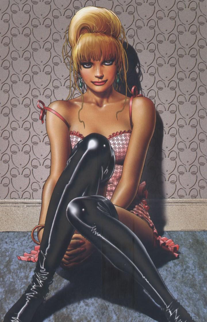 Lorde Fanny, travesti brasileiro, por Brian Bolland
