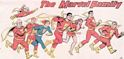 A Família Marvel