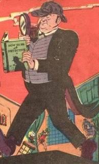 O gordo mordomo Alfred, da Era de Ouro.