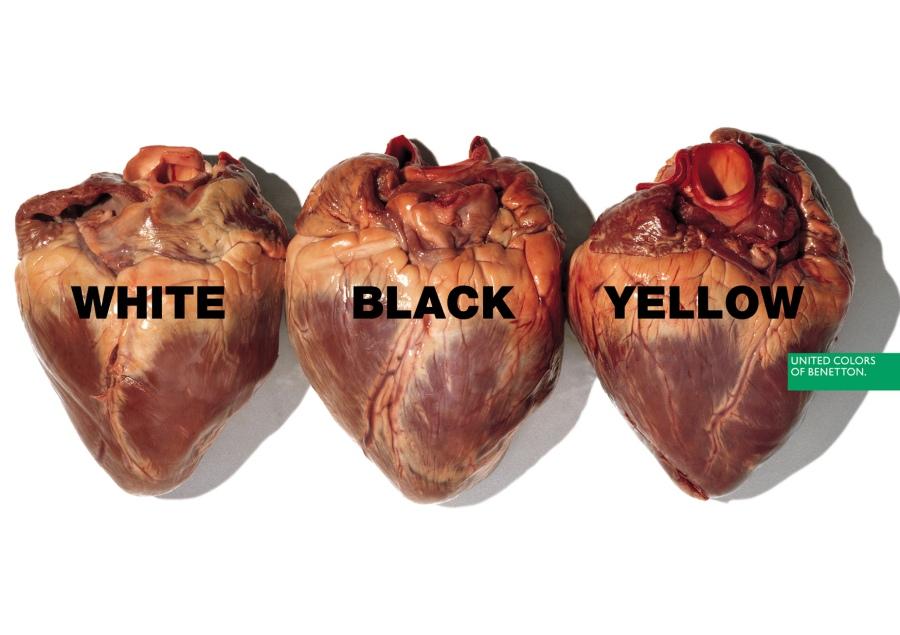 Hearts, Oliviero Toscani (1996)