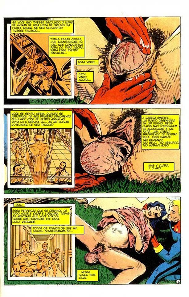 O nascimento da filha de Miracleman (1988)