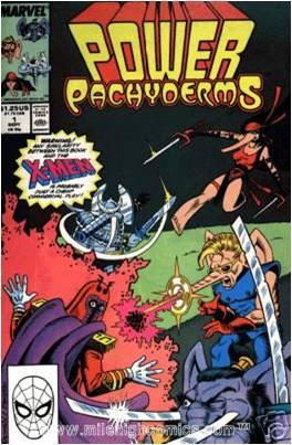 Poderosos Paquidermes (no melhor estilo Marvel!)