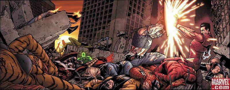 Guerra Civil (Civil War), uma leve, porém impactante, mudança na maneira como os super-heróis se enfrentam.