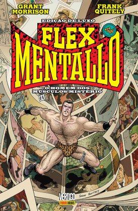 Capa da Edição Brasileira de Flex Mentallo