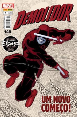 Demolidor #1, da Panini Comics, de Junho de 2013.