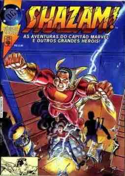 Shazam! #0 (Abril, 1996). O restart depois da Zero Hora. (Não, não é nem a banda e muito menos o jornal)
