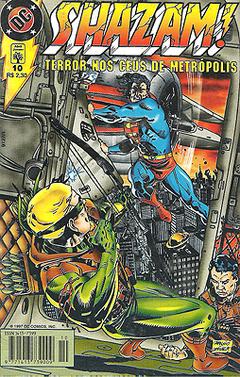 Shazam! #10, a morte do Arqueiro Verde.