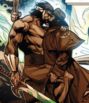 Wolverine beijar hércules numa realidade alternativa? NÃO PODE! Nocaute e Escândalo Savage serem amantes? UUH, SEXY!