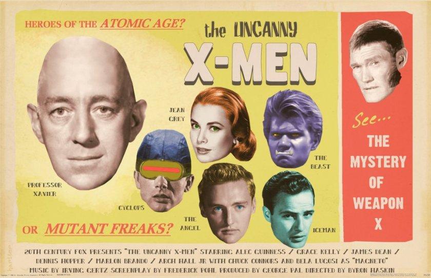 Os X-Men dos anos 50