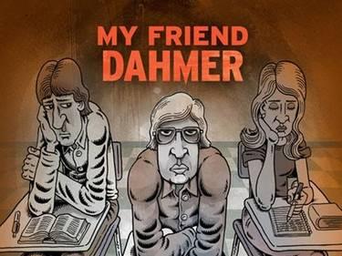 Detalhe da capa de My Friend Dahmer, de Derf Backderf.
