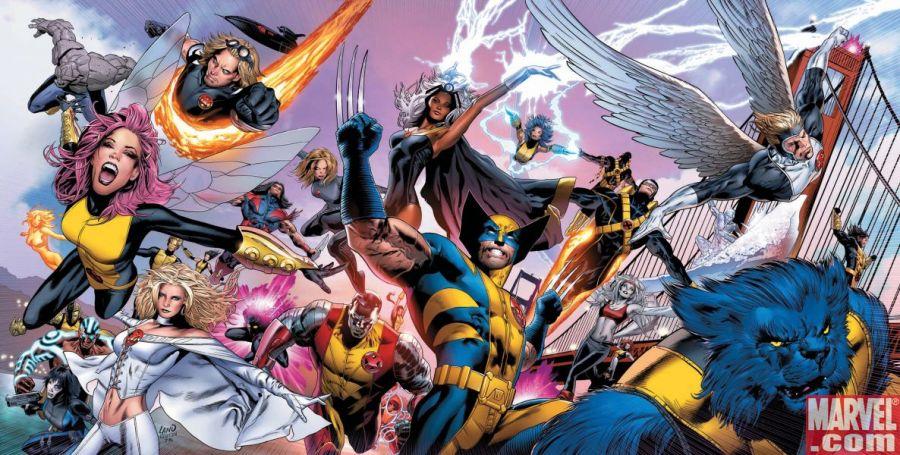 Aí vêm os milhares de X-Men de Matt Fraction e Greg Land! Eles vêm atacar seu cérebro e te deixar que nem o Legião! E cuidado, muito cuidado com o braço mutante do Wolverine!
