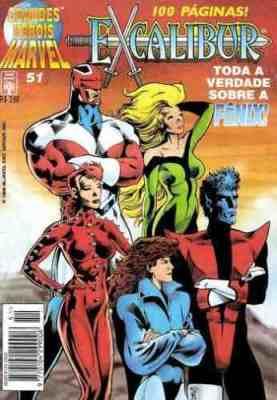 Grande Heróis Marvel #51 (Abril. 1996): Tudo oq ue você queria saber sobre a Fênix, mas tinha medo de perguntar.