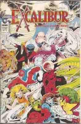 Graphic Globo #8 - Excalibur: The Swors is Draw