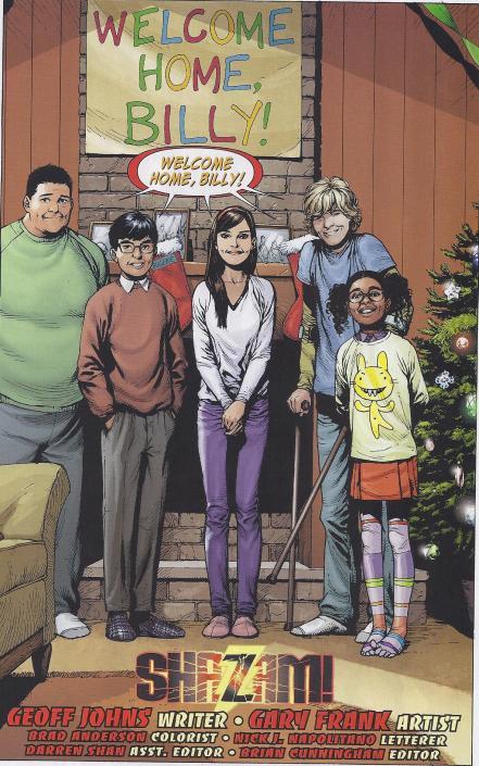 A nova Família Marvel.