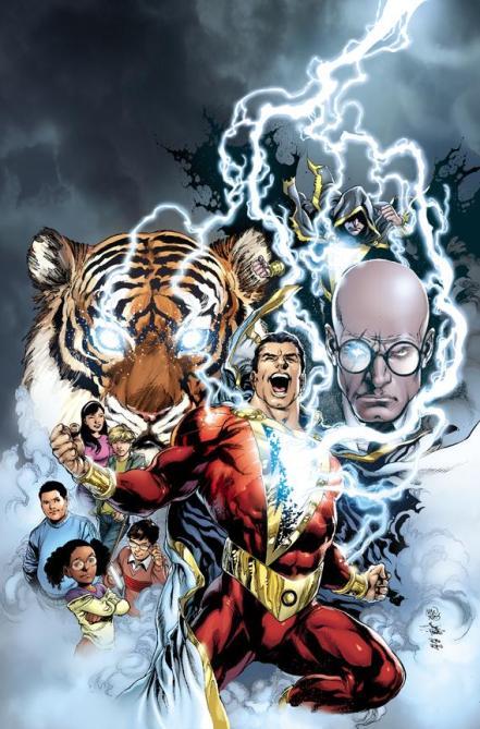 As novas versões dos personagens da mitologia de Shazam!