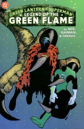 Legend Of The Green Flame (200), um Elseword da DC Comics que não é Elseword.
