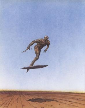 O Surfista, de Moebius