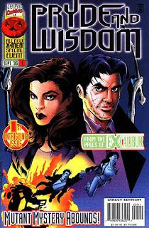 Pryde & Wisdom #1, de Warren Ellis (Orgulyo e Sabedoria), não foi publicado no Barsil, mas intruduziu um personagem importante da fase de Ellis no Excalibur: o agente secreto Peter Wisdom.