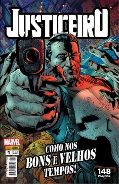 Justiceiro #1 (julho/2013, Panini Comics). 148 Páginas, R$ 18,90