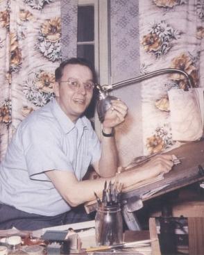 Jack Cole, o criador do Homem-Borracha: ele cometeu suicídio.
