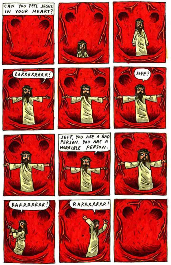 Jesus está dentro de você!