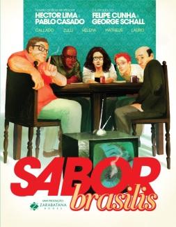 Sabor Brasilis, Hector Lima, Pablo Casado, Felipe Cunha e George Schall