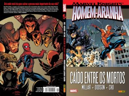 Homem-Aranha: Caído Entre Os Mortos, Mark Millar, Frank Cho, Terry E Rachel Dodson