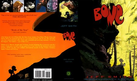 Bone - The Complete Cartoon Epic in One Volume, Jeff Smith