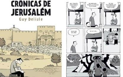 Crônicas de Jerusalém, Guy Delisle