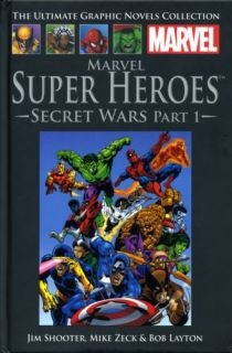 A Coleção de Graphic Novels da Marvel, da Salvat