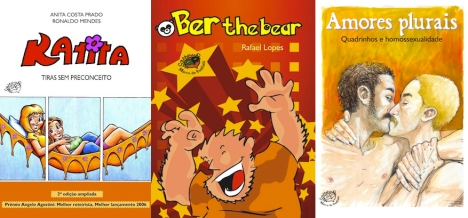 Os quadrinhos LGBT da Marca de Fantasia