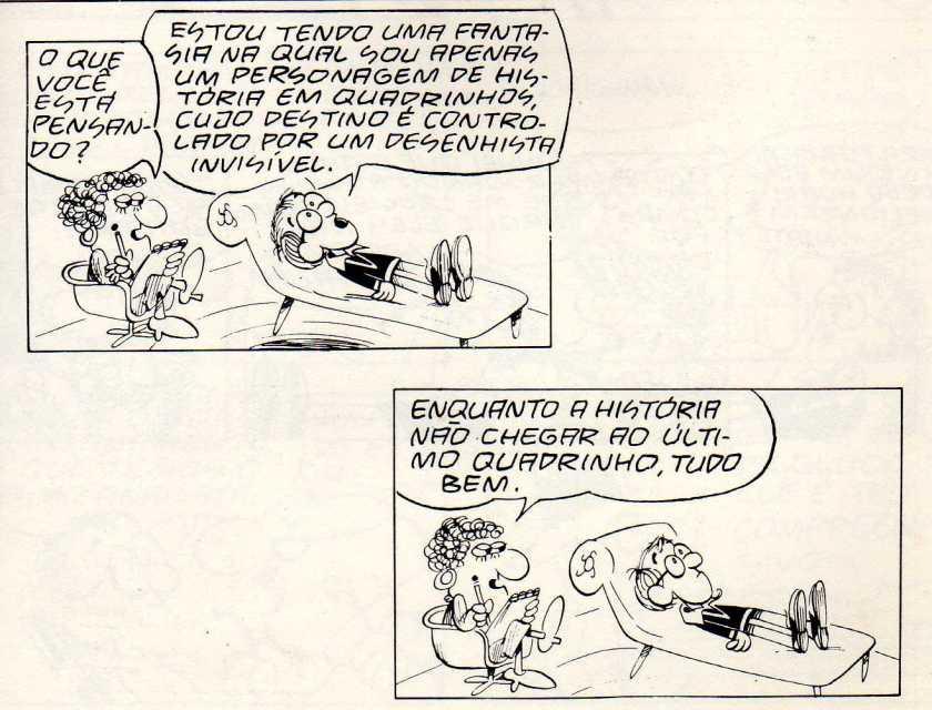 Woody enquanto personagem de quadrinhos. Mais um aspecto da sua obra: a metalinguagem.