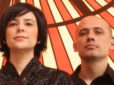 Fernanda Takai e John, do Pato Fu.