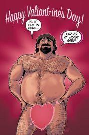 Um anúncio de Archer & Armstrong para o Dia dos Namorados.